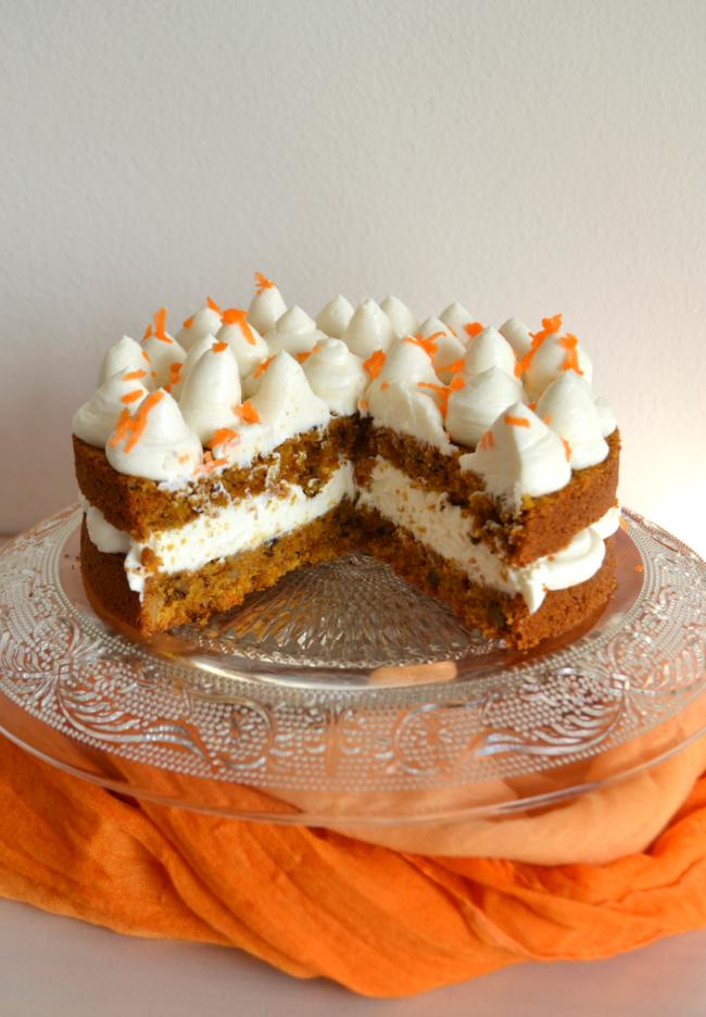 Carrot Cake Thermomix Velocidad Cuchara