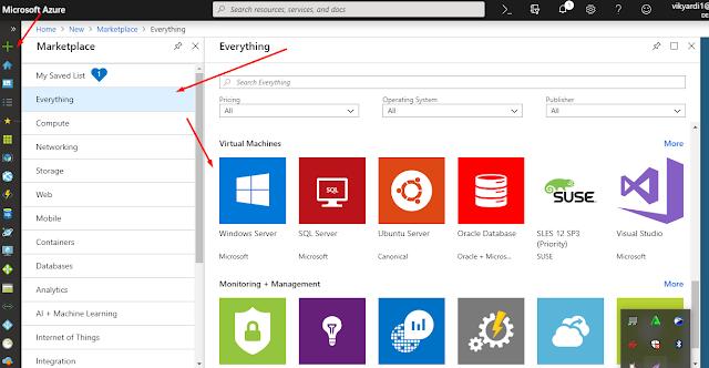 Cara Membuat Server Windows 2016 (VPS)/(RDP) Di Azure Free 2019