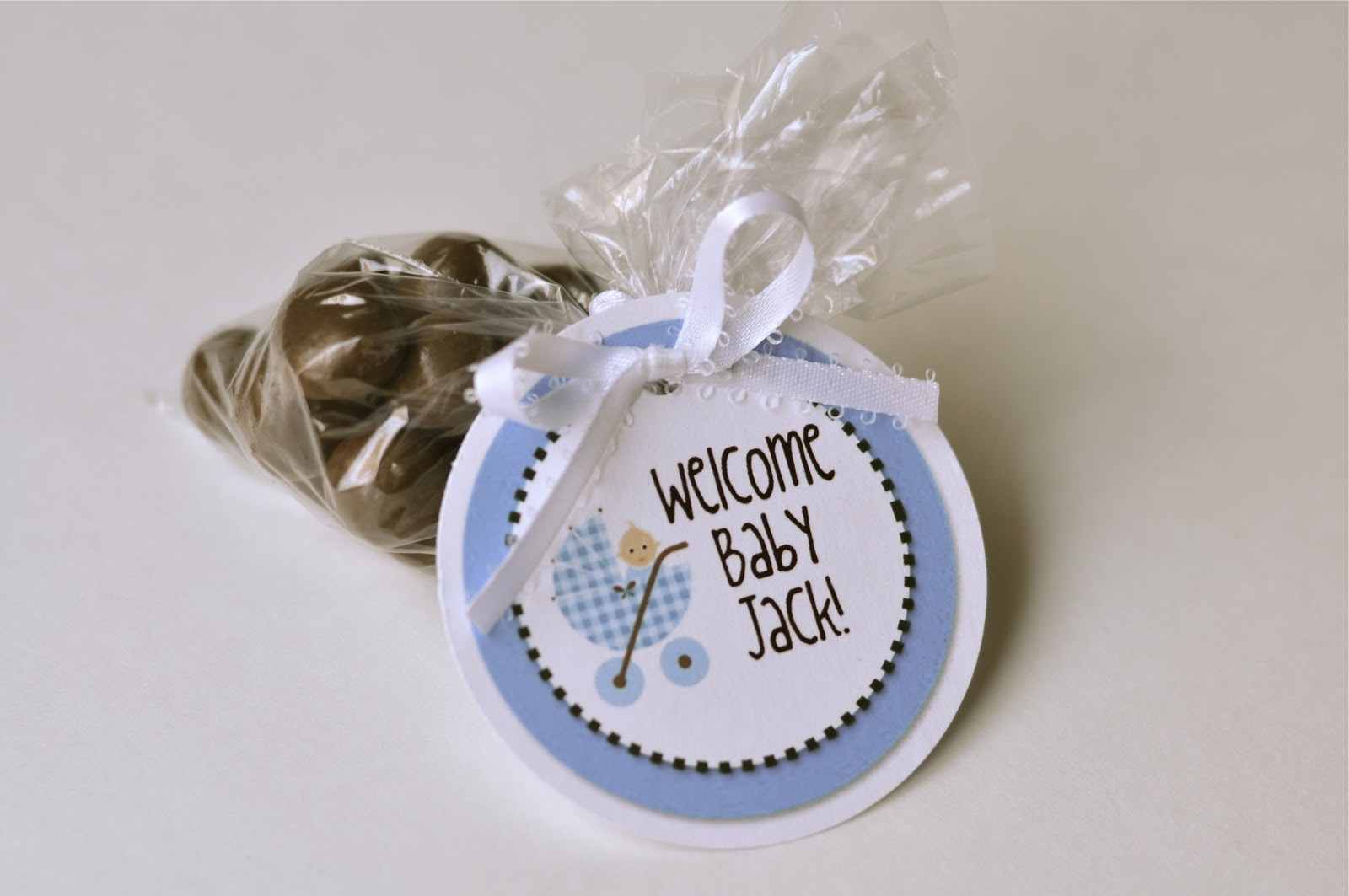 {TUTORIAL} Easy Baby Shower Favors