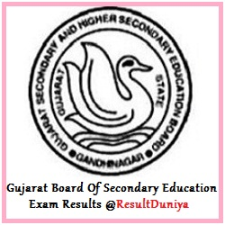 GSEB HSC 11th Result 2015