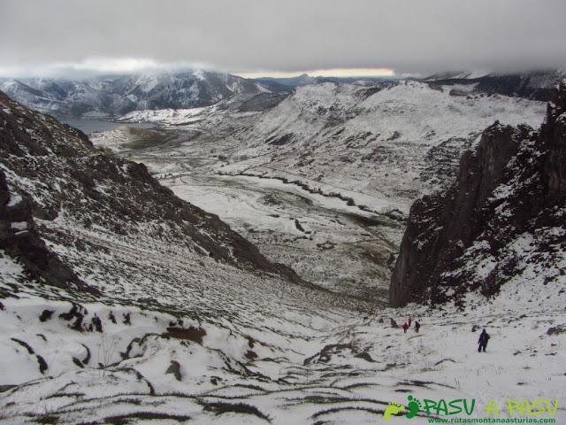 Ruta a la Barragana: Bajando de la Barragana a Cubillas de Arbas