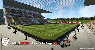 PES 2019 Stadium Municipal de Braga by Arthur Torres