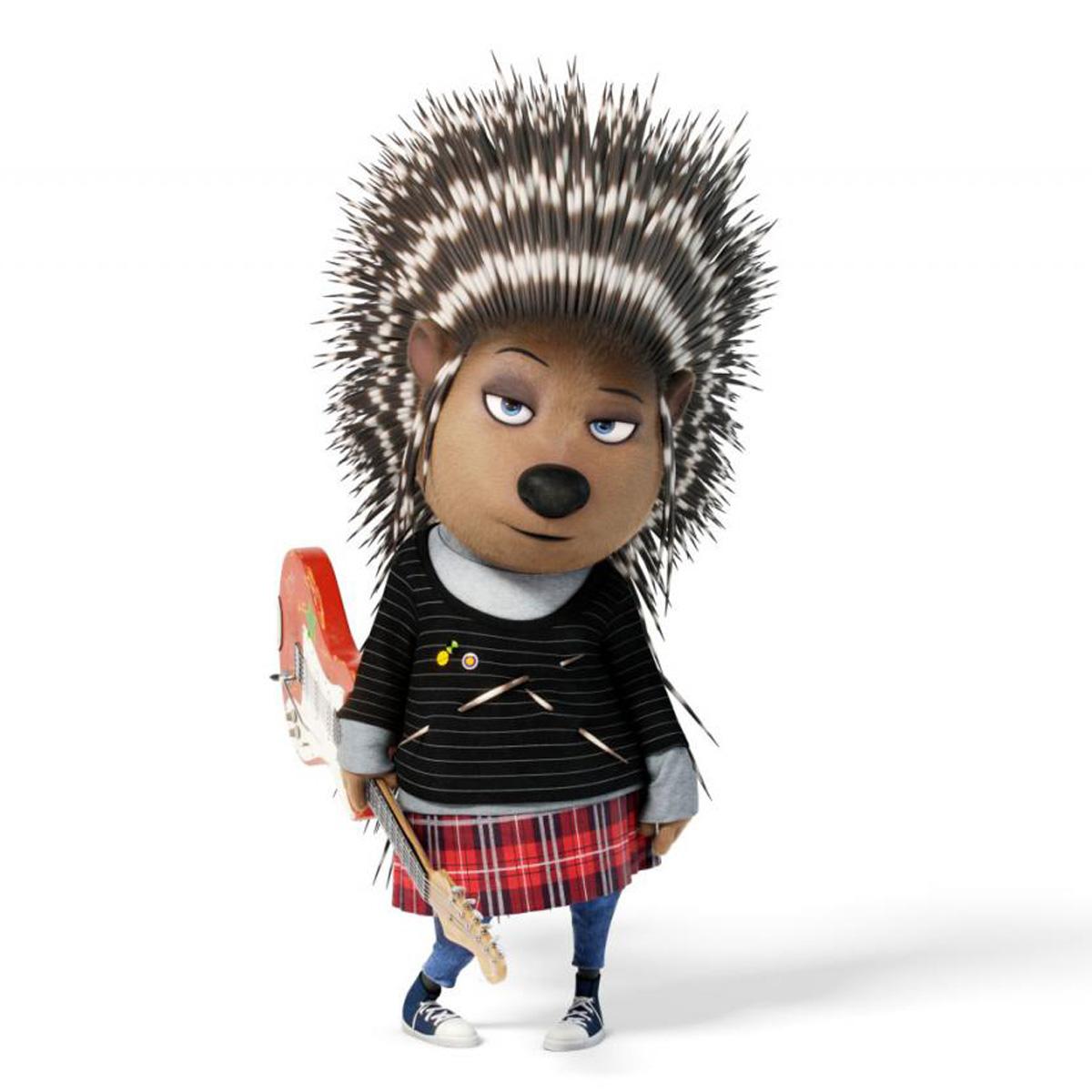 Scarlett Johansson, a Prickly Porcupine in