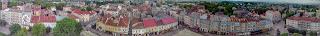 Дрогобыч. Площадь Рынок. Вид с городской ратуши