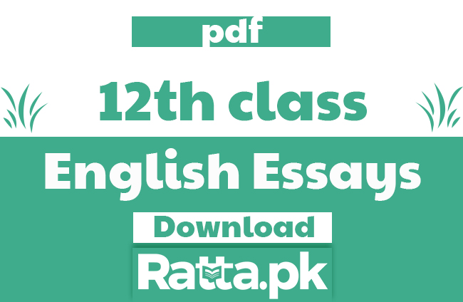 2nd Year English Essays Notes 2020 pdf - FSC 12th Class Essays