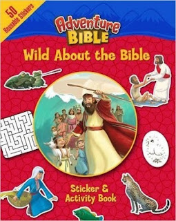 Adventure Bible, Wild About the Bible cover