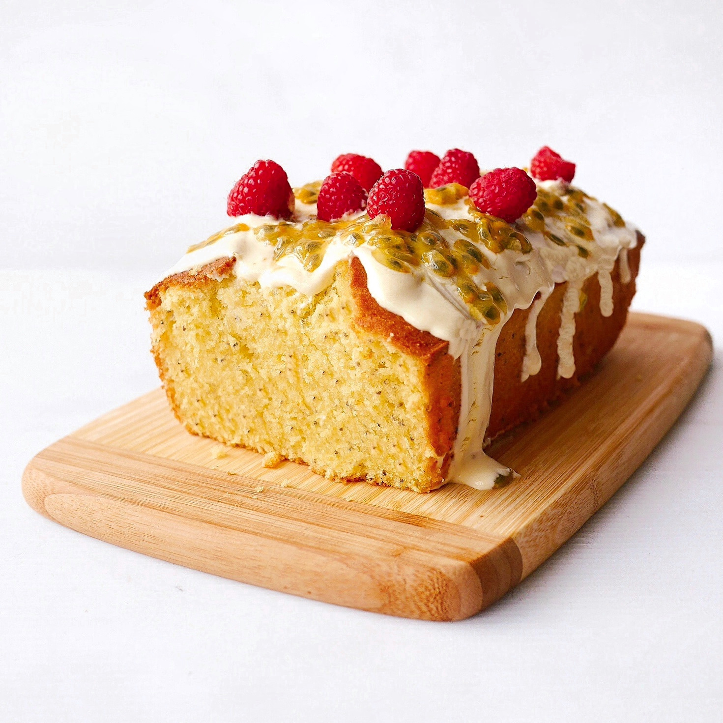yellowfingers: {Recipe} Passionfruit Yogurt Chia Loaf with Coconut ...
