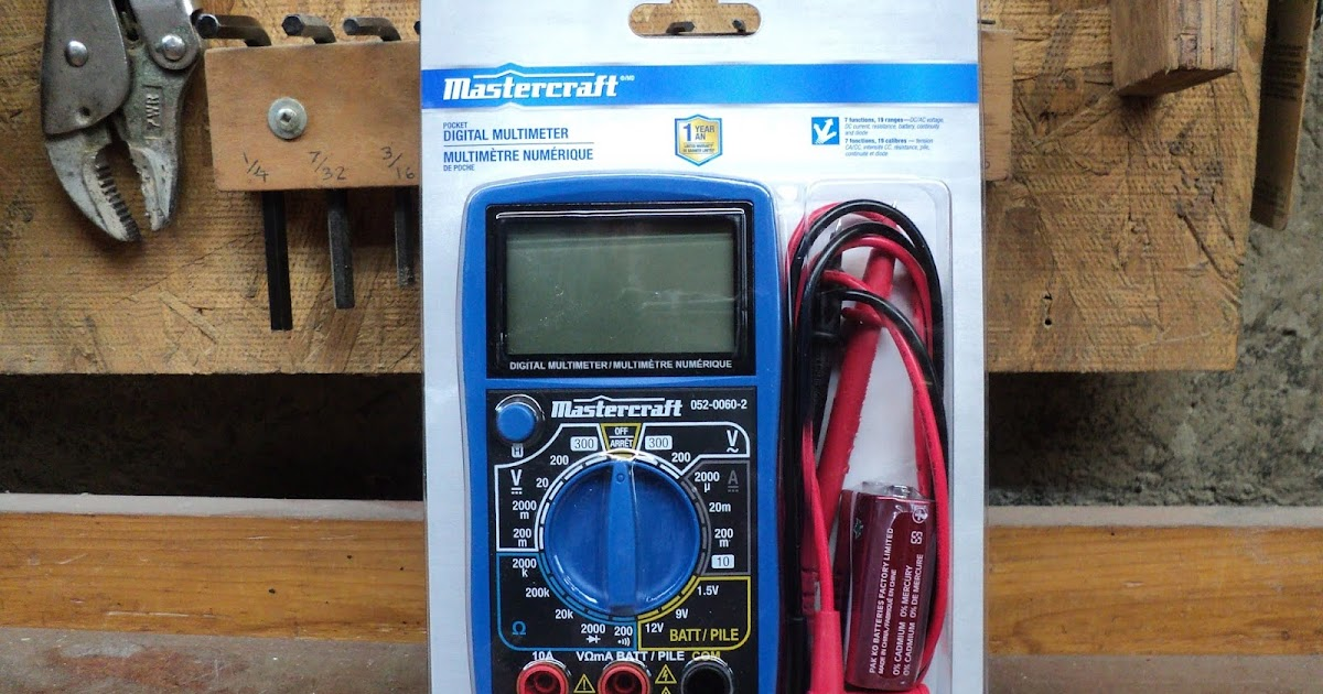 Rouge River Workshop Tool Review Mastercraft No 052