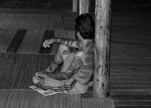 Photos of Sarawak Longhouse