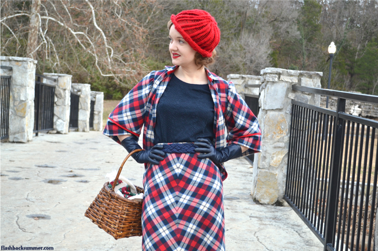 Flashback Summer: Plaid 1930s Ensemble - suit