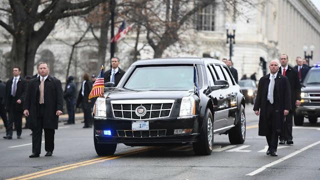 سيارة ترامب الرئاسية الجديدة الوحش قلعة متنقلة  للدفاع عن الرئيس