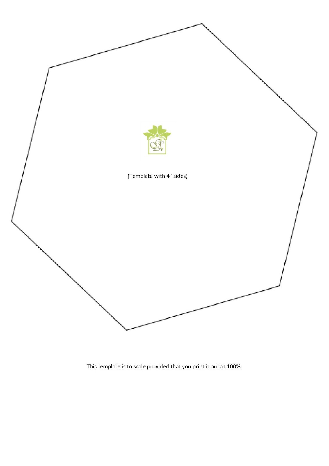 Here are the GryphonArt Templates I used to create my hexagons. Be ...