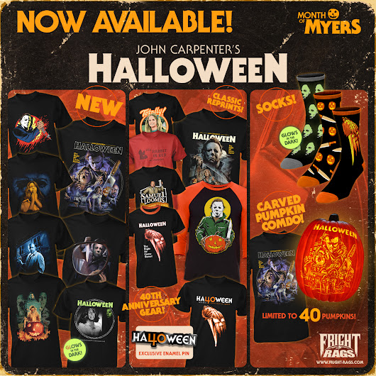 "Fright-Rags' ""Month of Myers"" is here!"
