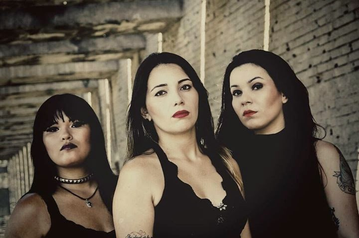 Mortarium - Doom Metal: Mortarium: A female Doom Metal band from Brazil