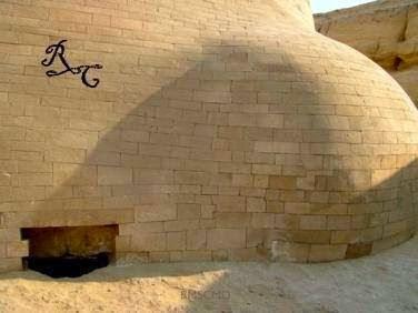 Új képek a Szfinx hátsó lejáratáról