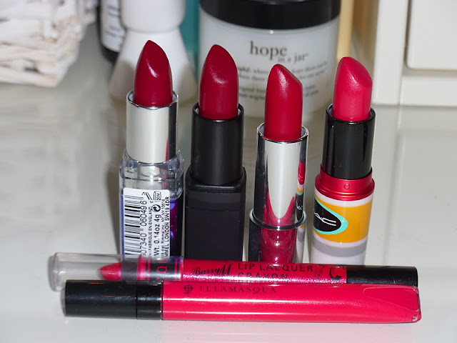 Top 6 Favourite Red Lipsticks 2012