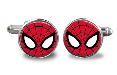 Spiderman Cufflinks