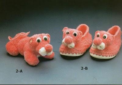 Botitas Infantiles de Crochet