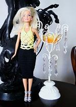 blusa de crochê para barbie Katalina's - versão Pecunia MillioM