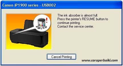 Cara Memperbaiki Printer Canon Blinking Berkedip Dengan Mudah
