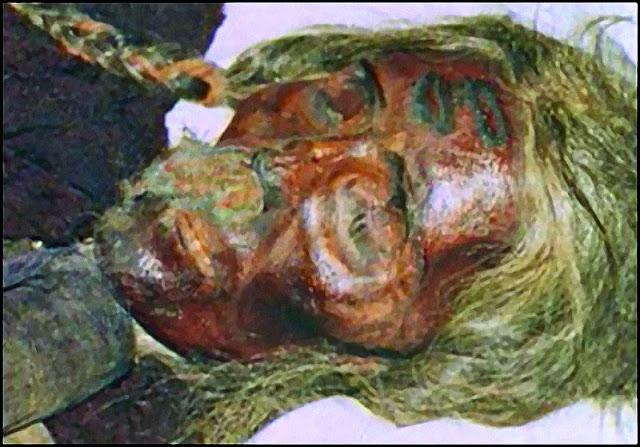 momias de raza blanca en china