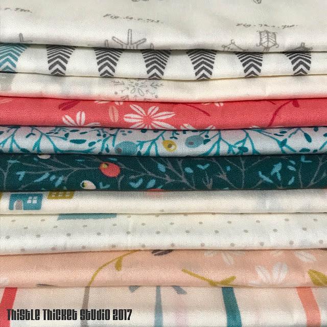 Amy Sinibaldi's Little Town Fabric for ARt Gallery Fabrics on Thistle Thicket Studio. www.thistlethicketstudio.com