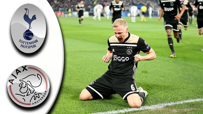 video cuplikan gol tottenham hostpur vs ajax pada liga champions