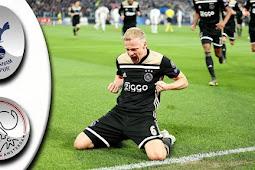 Video Cuplikan Gol Tottenham Hotspur vs Ajax Pada Liga Champions