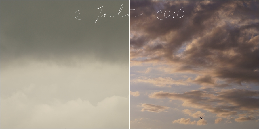 Blog + Fotografie by it's me!   fim.works   Himmel am 2. Juli 2016