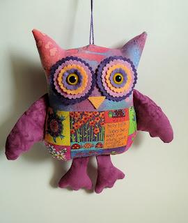 сова фиолетовая