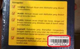 harga buku kamus peribahasa arab mahfuzhat