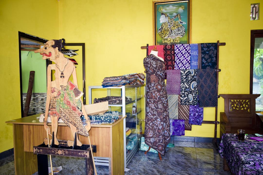 Di Galery Batik Kalimosodo Gedangsari Gunung Kidul