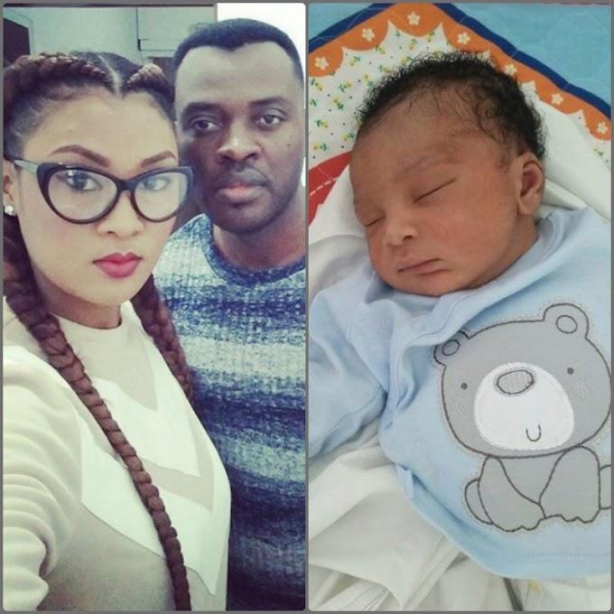 Jon Germain and Nadia welcome baby boy