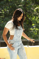 Neha Deshpande in Spicy Denim Jumpsuit and Whtie Crop Top March 2017 108.JPG