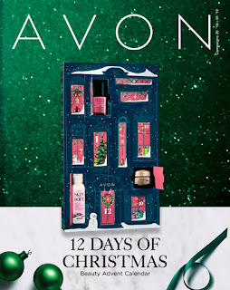 avon catalog 12 days of Christmas sale flyer