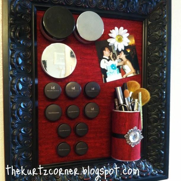 The Kurtz Corner Makeup Magnet Board