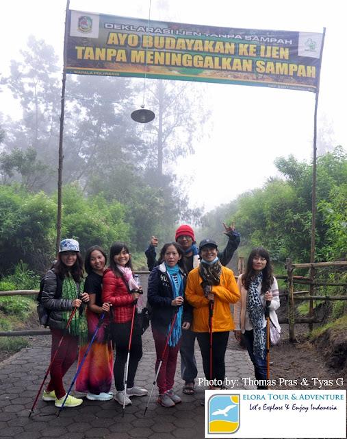 Pos Pendakian Gunung Ijen di Paltuding