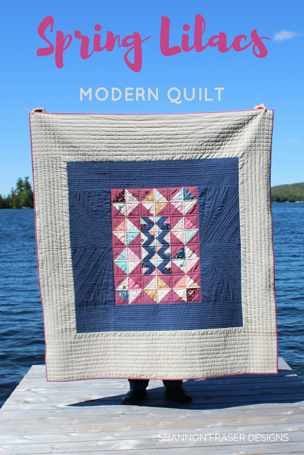 Quilts in the Wild | Shannon Fraser Design | Modern Quilt | Quilting without a pattern | Modern Patchwork | Nature as inspiration