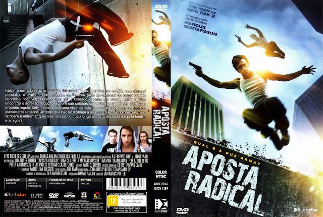 Capa DVD Aposta Radical