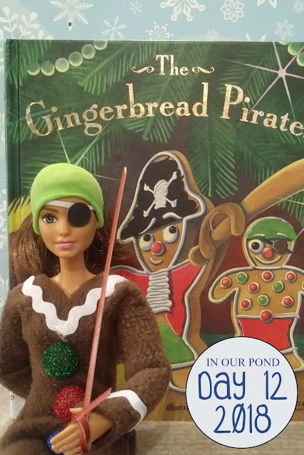 Joy and Hope (elf on the shelf) Adventures for Christmas // In Our Pond // gingerbread pirates // christmas cookies