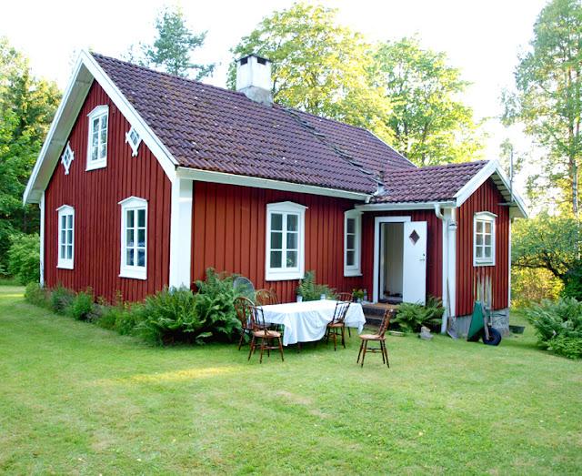 Idyllisk svensk ødegård
