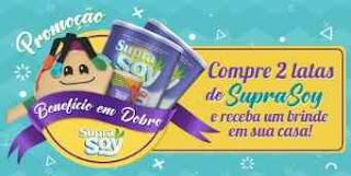 Cadastrar Promoção Suprasoy 2018 Comprou Ganhou Pelúcia ou Caneca