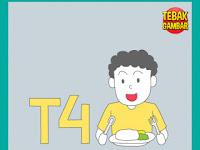 Tebak Gambar T Angka 4 dan Anak Makan