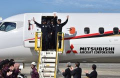 Mitsubishi is making Japan's 1st plane in 50 years