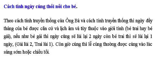 Le Cung Thoi Loi