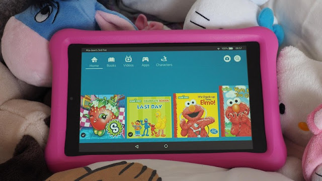 Amazon Fire HD 8 Kids Edition Tablets for Children