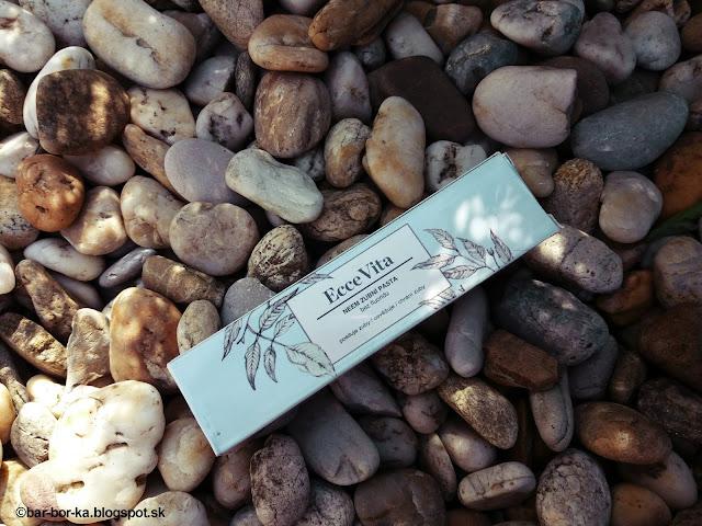 Ecce Vita Neem Bylinná Zubná Pasta bio, vegan zubná pasta vhodná pre všetky tipy zubov