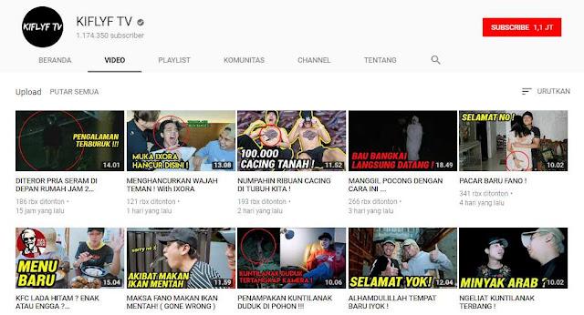 Inilah 5 Daftar Channel YouTube Horor Indonesia Paling Menyeramkan Dan Terpercaya