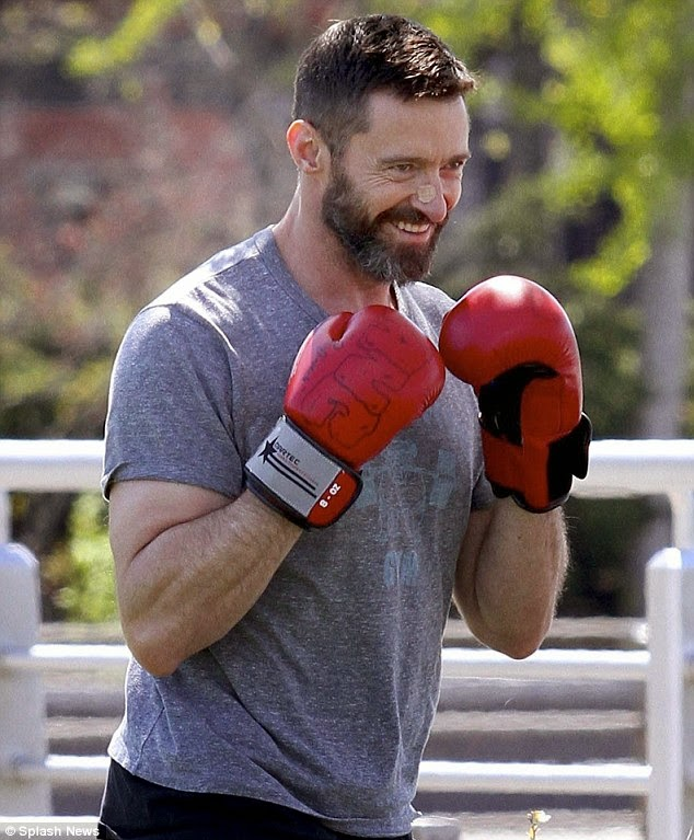 Hugh Jackman does boxing training for new film role in Peter Pan