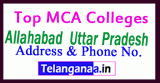 Top MCA Colleges in Allahabad Uttar Pradesh